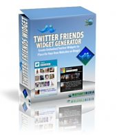 Twitter Friends Widget Software with Master Resell Rights