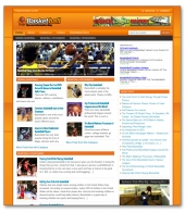 Basketball Niche Blog Template with private label rights