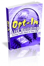 Opt-In List Building eBook with Master Resale Rights
