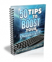 50 Tips to Boost Your Productivity eBook with Master Resell Rights