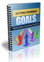 Setting Yourself Goals eBook with Resell Rights