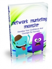 Network Marketing Monster eBook with private label rights