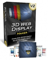 3D Web Display Maker V2 Graphic with Personal Use Rights