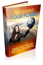 Reclaiming Your Power eBook with private label rights