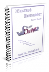 20 Steps to Ultimate Confidence eBook with Resell Rights Only