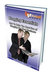 Blogging Essentials eBook with Master Resell Rights
