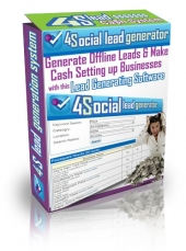 4 Social Lead Generator Software with Personal Use Rights