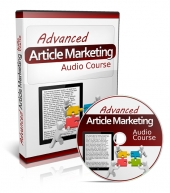 Advanced Article Marketing Audio Course Audio with Private Label Rights