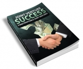 Joint Venture Success eBook with Resell Rights