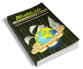 Worldwide Membership Cash eBook with Resell Rights