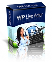 WP Live Actor 2.0 Software with Personal Use Rights
