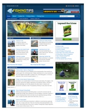 Fishing Niche Blog Package Template with private label rights
