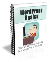 WordPress Basics eBook with Private Label Rights