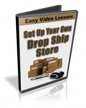 Set Up Your Own Drop Ship Store Video with private label rights