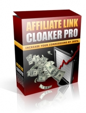 Affiliate Link Cloaker Pro Software with Private Label Rights