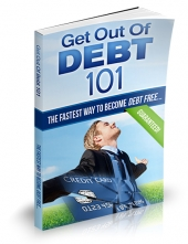 Get Out of Debt 101 eBook with Private Label Rights