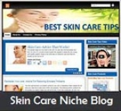 Skin Care Niche Blog Template with Personal Use Rights