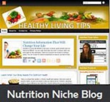 Nutrition Niche Blog
