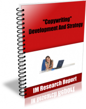 Copywriting Development and Strategy eBook with Master Resell Rights