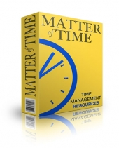 Matter of Time eBook with Personal Use Rights