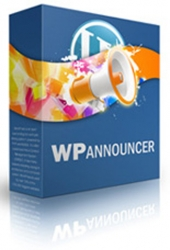 WP Announcer Plugin Software with Personal Use Rights