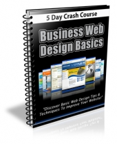 Business Web Design Basics Course eBook with Private Label Rights