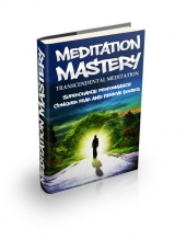Transcendental Meditation eBook with private label rights