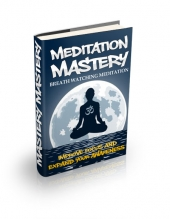 Breath Watching Meditation eBook with Master Resell Rights