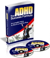 The ADHD Success Formula Audio Audio with Private Label Rights
