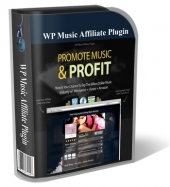 WP Music Affiliate WP Plugin Software with Personal Use Rights