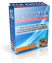 PLR Poster Software with Personal Use Rights