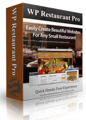 WP Restaurant Pro Theme Template with Personal Use Rights