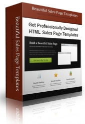Beautiful Sales Page Templates Template with Personal Use Rights