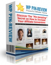 WP Pin Review Theme Template with Personal Use Rights
