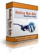 WordPress Notice Box Ads Plugin Software with Personal Use Rights