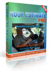 Roof Estimate Pro Software Software with Master Resell Rights
