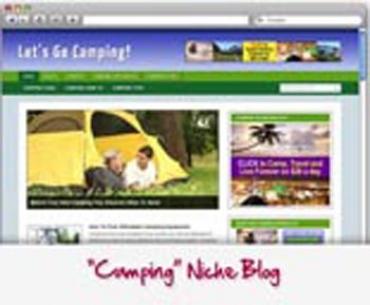 Camping WordPress Blog