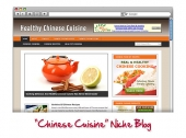 Chinese Cuisine WordPress Blog Template with Personal Use Rights