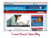 Learn French WordPress Niche Blog Template with Personal Use Rights