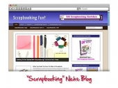 Scrap Booking WordPress Niche Blog Template with Personal Use Rights