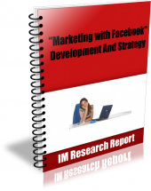 Marketing with Facebook eBook with Master Resell Rights