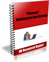 Pinterest - Development and Strategy eBook with Master Resell Rights