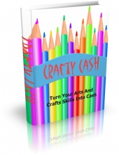 Crafty Cash eBook with private label rights