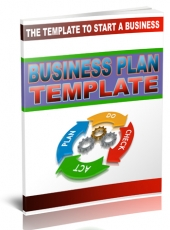 Business Plan Template eBook with Giveaway Rights