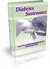 Diabetes Sustenance eBook with private label rights