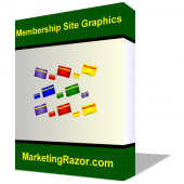 Membership Site Graphics Pack Graphic with Master Resell Rights