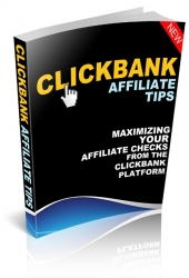 Clickbank Affiliate Tips eBook with Master Resell Rights