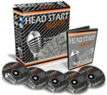 Head Start Audios Software with Master Resale Rights