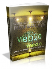 Web 2.0 Secrets Revealed eBook with private label rights
