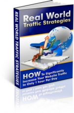 Real World Traffic Strategies eBook with Master Resale Rights